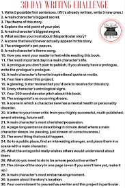 join me this april in a 30 day writing challenge to take you