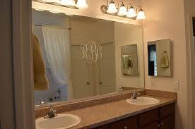 Adding A Bathroom Homey Ideas Trim Around Bathroom Mirror Diy Why Spend More