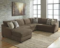 Sofa With Ottoman Chaise by Benchcraft Justyna Contemporary 3 Piece Sectional With Left Chaise
