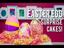 candy filled easter eggs how to make candy filled easter egg cakes chocolate