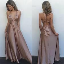 2017 v neck long gorgeous floor length sleeveless prom dress