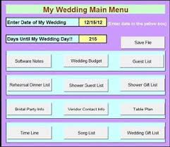 Wedding Planning Software Diy Budget Cheap Wedding Planner Planning Organizer Work Book Easy
