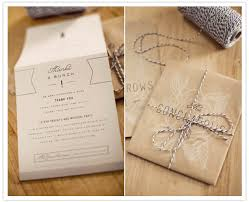 wedding programs exle wedding invitations wrapped in bakers twine wedding invites