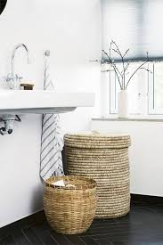 Towel Storage For Bathroom by Best 25 Bathroom Baskets Ideas Only On Pinterest Bathroom Signs