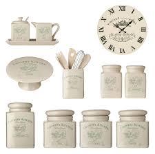 kitchen tea coffee sugar canister biscuit salt pepper milk jar
