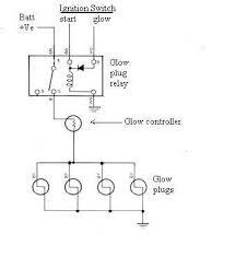 glow plug timer wiring diagram glow free wiring diagrams