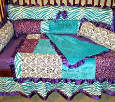 Teal And Purple Crib Bedding Teal And Purple Bedding Ktactical Decoration
