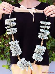money leis diy money for grads personal creations