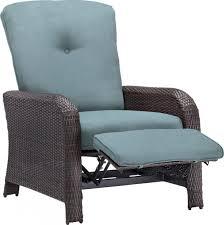 strathmere luxury wicker outdoor recliner chair