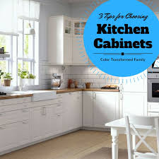 Selecting Kitchen Cabinets Color Color Transformed Family