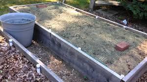 preparing the garden for winter youtube
