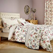 french style floral bedding birds of paradise by v u0026a at bedeck 1951
