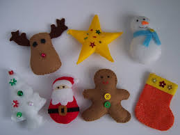 collection of templates for felt christmas ornaments all can