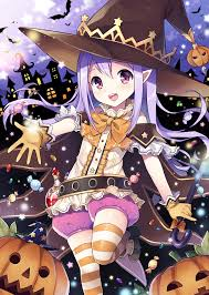 cute anime halloween no larger size available kawaii cute pinterest violet