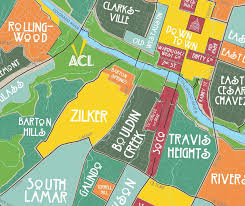 Map Of Texas Hill Country Aggregated Maps Of Austin U2014 Austin U0027s Atlas