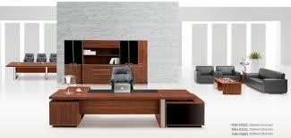 furniture office ergonomic wood glass corner computer desk with