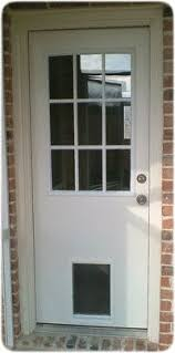 Interior Doors With Built In Blinds Full View Glass Insert With Pet Door Large Diy Pinterest