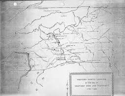 Map Of Western Nc Some Early Nc Maps