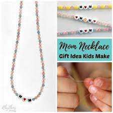diy necklace images Diy mom necklace gift idea kids can make rhythms of play jpg