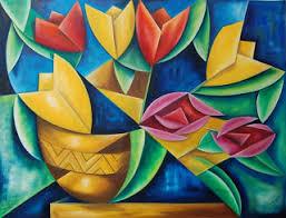 cubism colours s homework