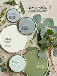 green paint color palette easy greens interiors by color