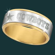 dallas wedding band dallas cowboys spinner ring the danbury mint products i