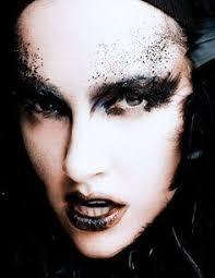 black halloween makeup ideas to explore your darkest side black