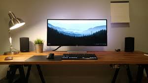 Laptop Desk Setup Uncategorized The It Student Desk Desk Hunt Laptop Desk Setup