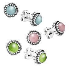 birthday blooms birthstone earrings