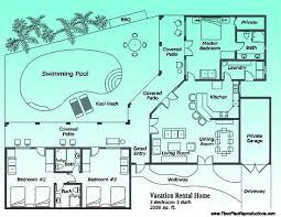 vacation cabin plans 11 best vacation rental marketing floor plans images on