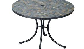 7 Piece Round Patio Dining Set by Table N Stunning Slate Dining Table Rochester 7 Piece Patio