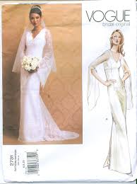 wedding dress patterns to sew vintage vogue couturier design sewing pattern sewing wedding