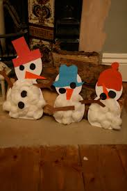 cotton wool snowmen the imagination tree