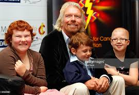 sir richard branson supports perth cancer foundation photos and