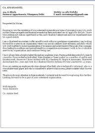 Cover Letter For Chartered Accountant Esl Dissertation Methodology Proofreading For How