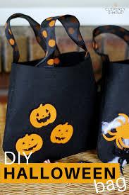 diy halloween bag for trick or treating simple recipes diy