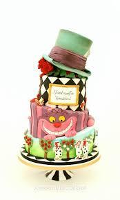 alice in wonderland wedding cake cake by kasserina cakes