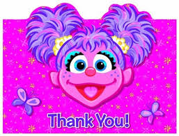 abby cadabby party supplies abby cadabby thank you notes 8ct children s party theme