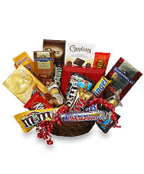chocolate gift basket chocolate basket gift basket gift baskets flower shop