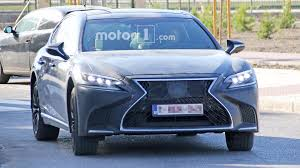 lexus ls 500 latest news lexus ls spied looking sporty possibly preparing for more power
