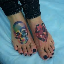 foot tattoo designs to help you leave a steeper footprint