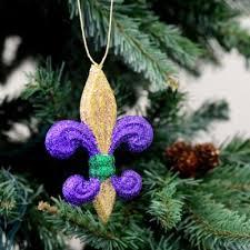 4 pgg glitter fleur de lis ornament mz166352 craftoutlet