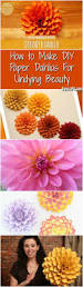 How To Make Home Decorating Items Best 25 Paper Dahlia Ideas On Pinterest Paper Flowers Diy