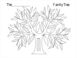 blank family tree template 31 free word pdf documents