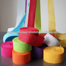 streamers paper crepe paper streamers paper crepe streamers garland bunting paper