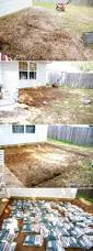 building fire pit in backyard backyard bliss installing patio pavers and a fire pit diy patio