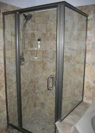 bathroom glass tile ideas light ton marble glass tile bathroom shower design with stainless