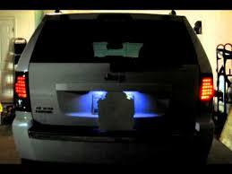 jeep grand cherokee led tail lights jeep grand cherokee tinted led tail lights youtube