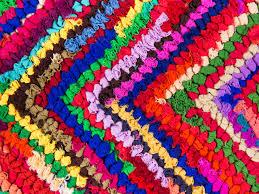 Tapis Salon Multicolore by