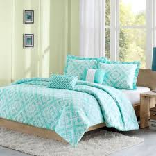 Bed Bath And Beyond Dorm This One For Dorm Room Laurent Reversible Comforter Set In Teal